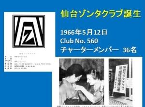仙台IZC50年の歩みスライド